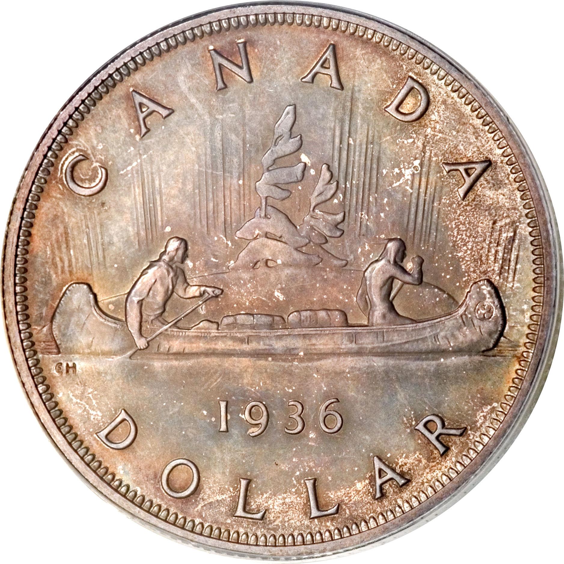 1 Dollar George V With Quot Dei Gratia Quot Canada Numista