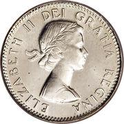 10 Cents - Elizabeth II (1st portrait) -  obverse