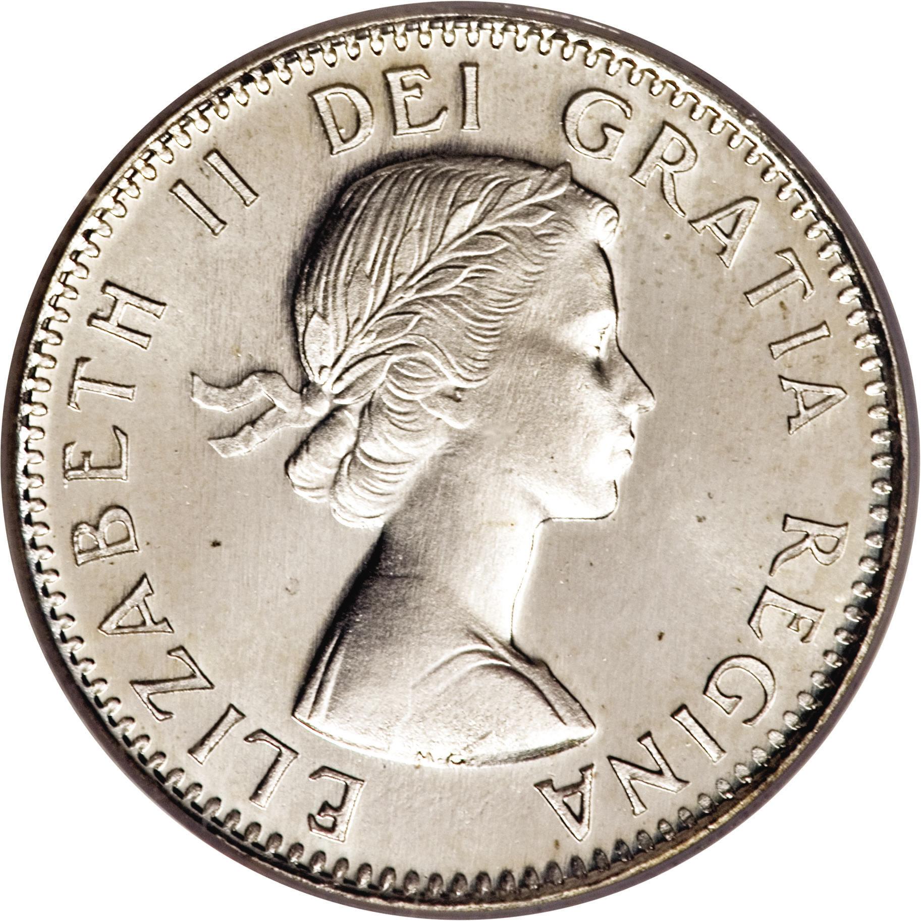 10 Cents Elizabeth Ii 1st Portrait Canada Numista