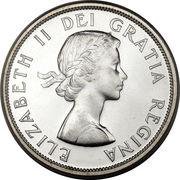 1 Dollar - Elizabeth II (1st portrait) -  obverse