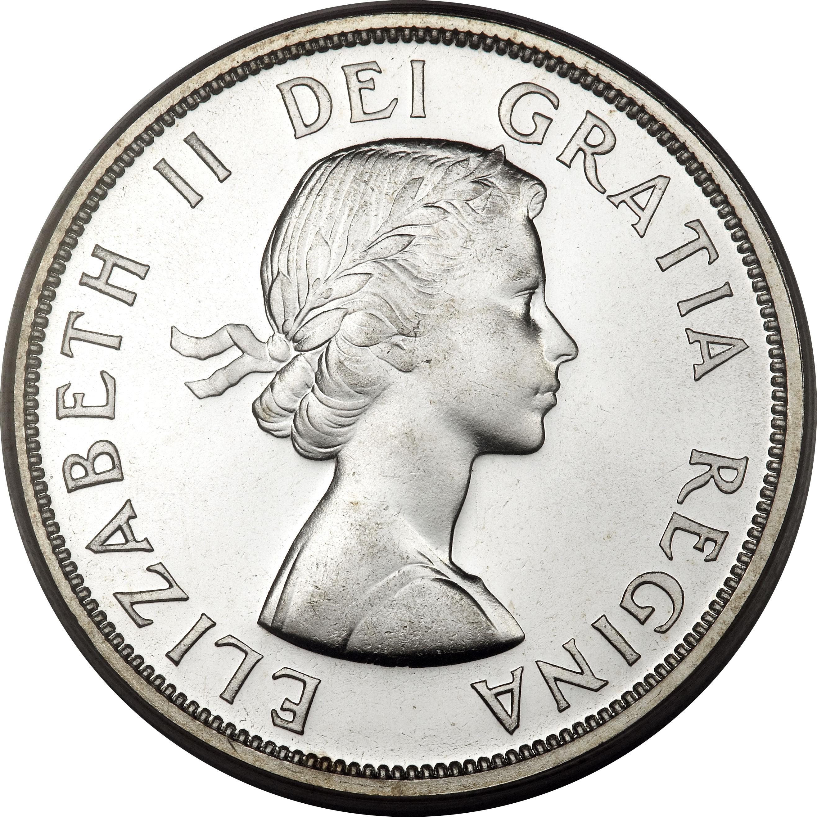 1 Dollar Elizabeth Ii 1st Portrait