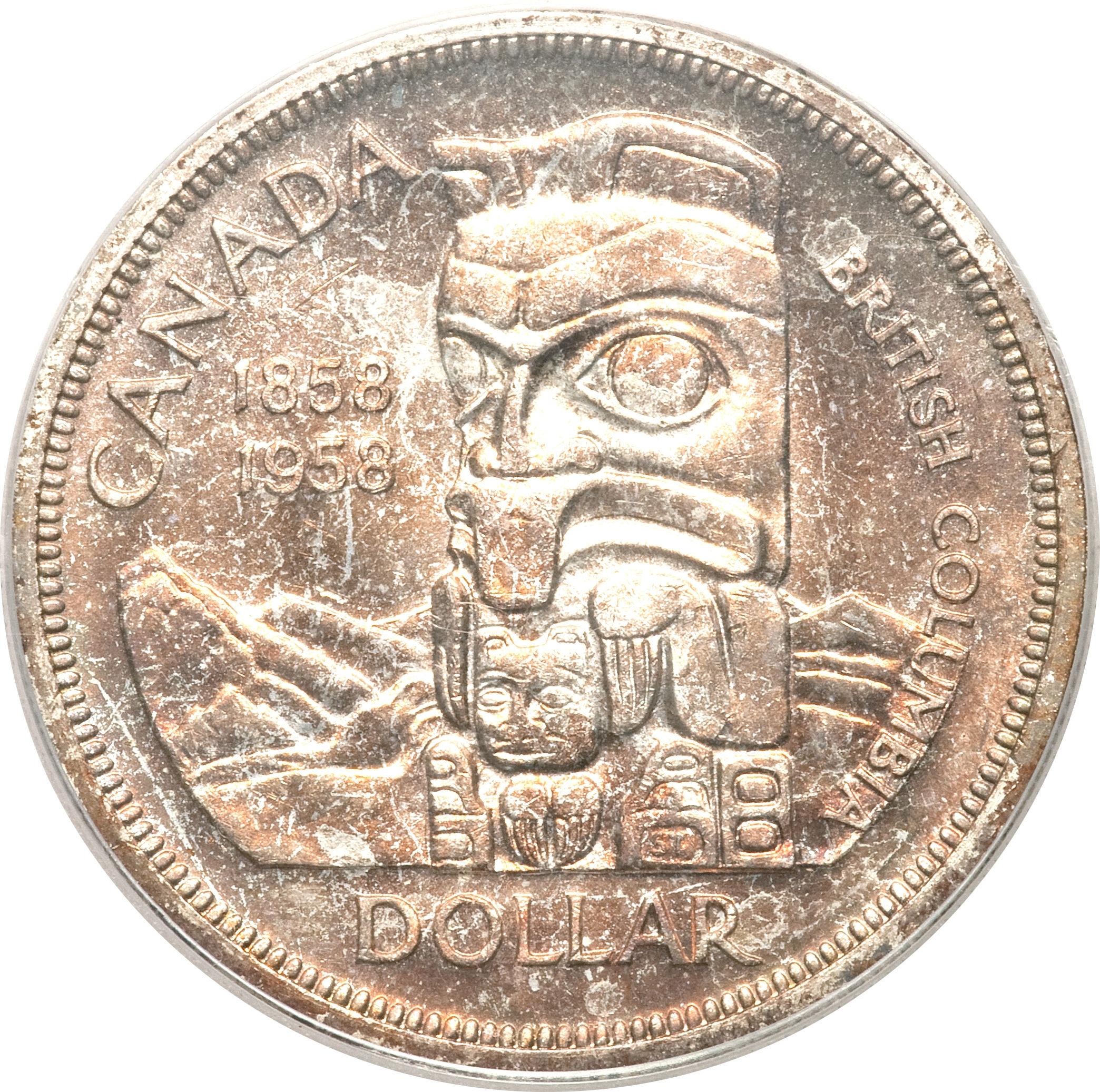 1 Dollar - Elizabeth II (British Columbia) - Canada – Numista