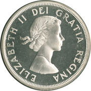 1 Dollar - Elizabeth II (Confederation Conferences) -  obverse