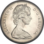 5 Cents - Elizabeth II (2nd portrait) -  obverse