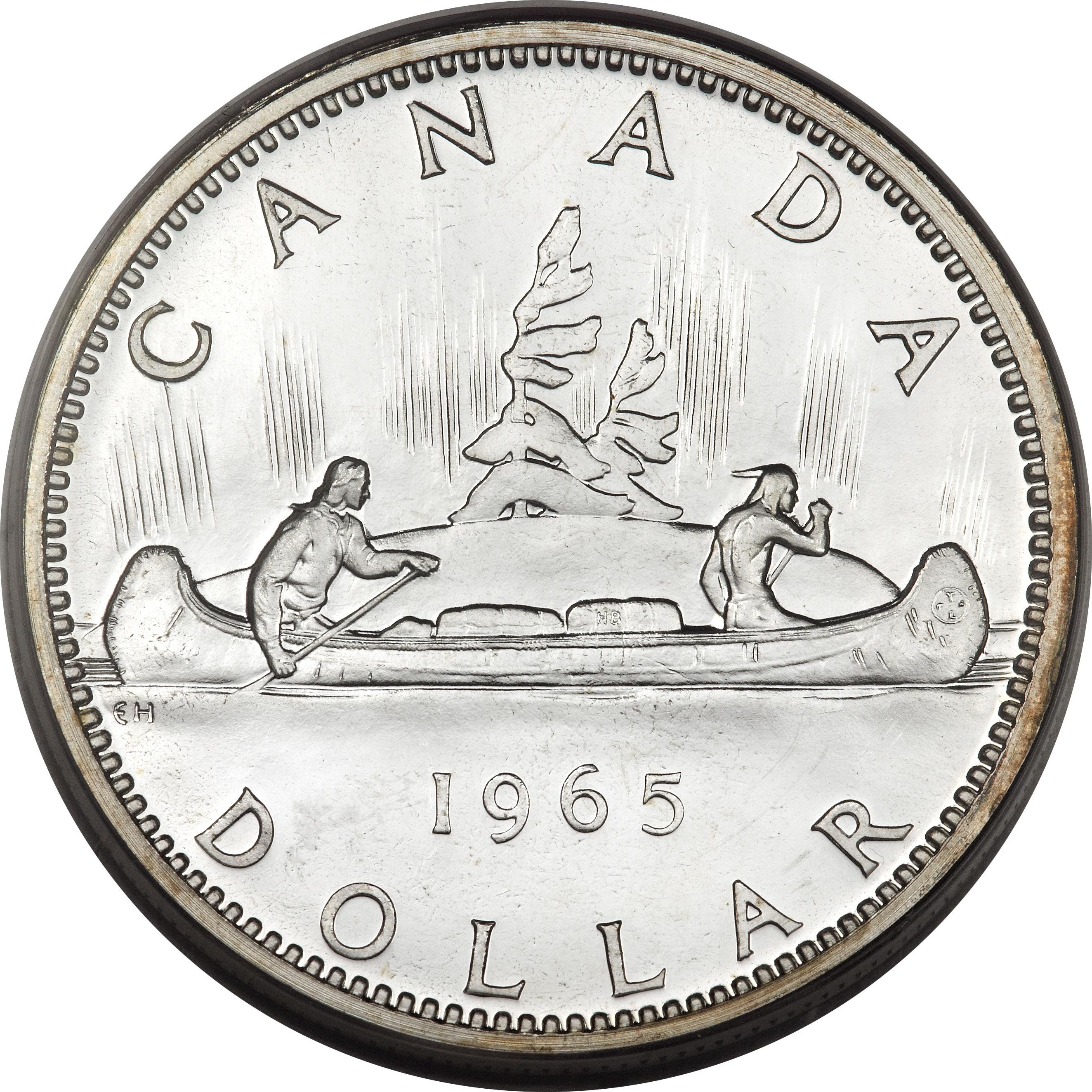 1 Dollar Elizabeth Ii 2nd Portrait Canada Numista