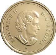 25 Cents - Elizabeth II (Montreal Canadiens) -  obverse