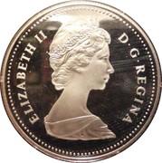 1 Dollar - Elizabeth II (Trans-Canada Railway) -  obverse