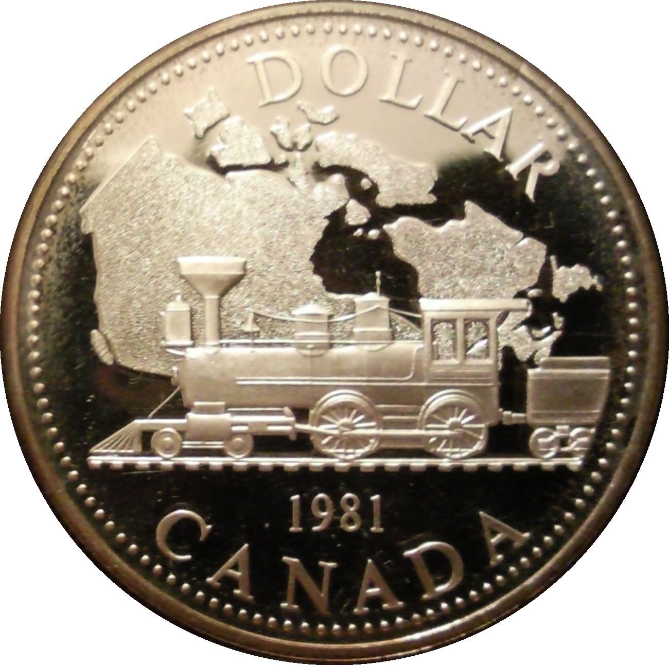 1 Dollar - Elizabeth II (Trans-Canada Railway) - Canada ...
