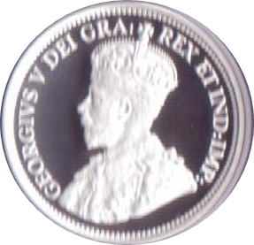 25 Cents Elizabeth Ii George V Canada Numista