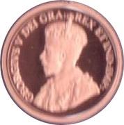 1 Cent - Elizabeth II (George V) – obverse