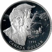 1 Dollar - Elizabeth II (Hudson Bay Co.) -  reverse