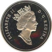 1 Dollar - Elizabeth II (RCMP Northern Dog Team Patrol) -  obverse