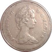 5 Cents - Elizabeth II (2nd portrait; cupronickel) -  obverse