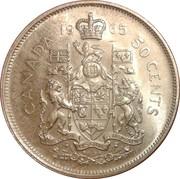 50 Cents - Elizabeth II (2nd portrait, silver) -  reverse