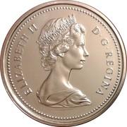 1 Dollar - Elizabeth II (large 2nd portrait) -  obverse