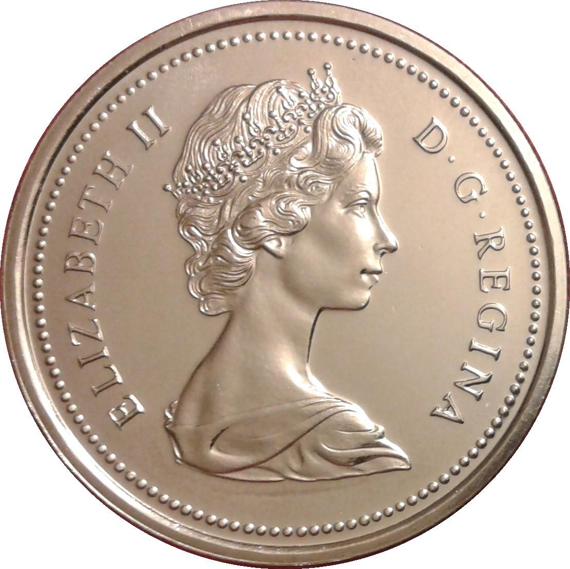1 Coin 1971 Dollar Canada Canadian Dollar Nice