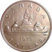 1 Dollar - Elizabeth II (large 2nd portrait) -  reverse