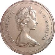 1 Dollar - Elizabeth II (small 2nd portrait) -  obverse