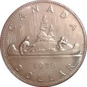 1 Dollar - Elizabeth II (small 2nd portrait) -  reverse
