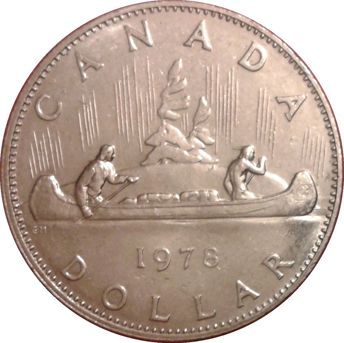 Canada 1978 Proof Like Voyageur Nickel Dollar!!