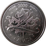 25 Cents - Elizabeth II (Pride) -  reverse