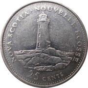 25 Cents - Elizabeth II (Nova Scotia) -  reverse