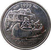 25 Cents - Elizabeth II (May) – reverse