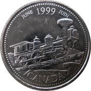 25 Cents - Elizabeth II (June) – reverse
