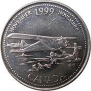 25 Cents - Elizabeth II (November) -  reverse