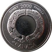 25 Cents - Elizabeth II (Family) -  reverse