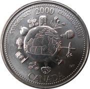 25 Cents - Elizabeth II (Community) -  reverse