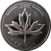 25 Cents - Elizabeth II (Harmony) -  reverse