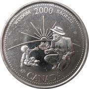 25 Cents - Elizabeth II (Wisdom) -  reverse