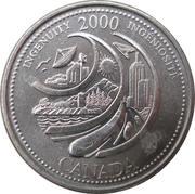 25 Cents - Elizabeth II (Ingenuity) -  reverse