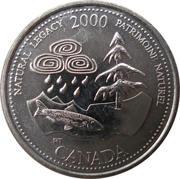 25 Cents - Elizabeth II (Natural Legacy) -  reverse