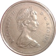 25 Cents - Elizabeth II (Royal Canadian Mounted Police) -  obverse