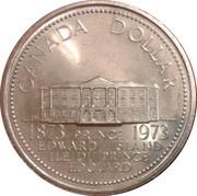 1 Dollar - Elizabeth II (Prince Edward Island) -  reverse