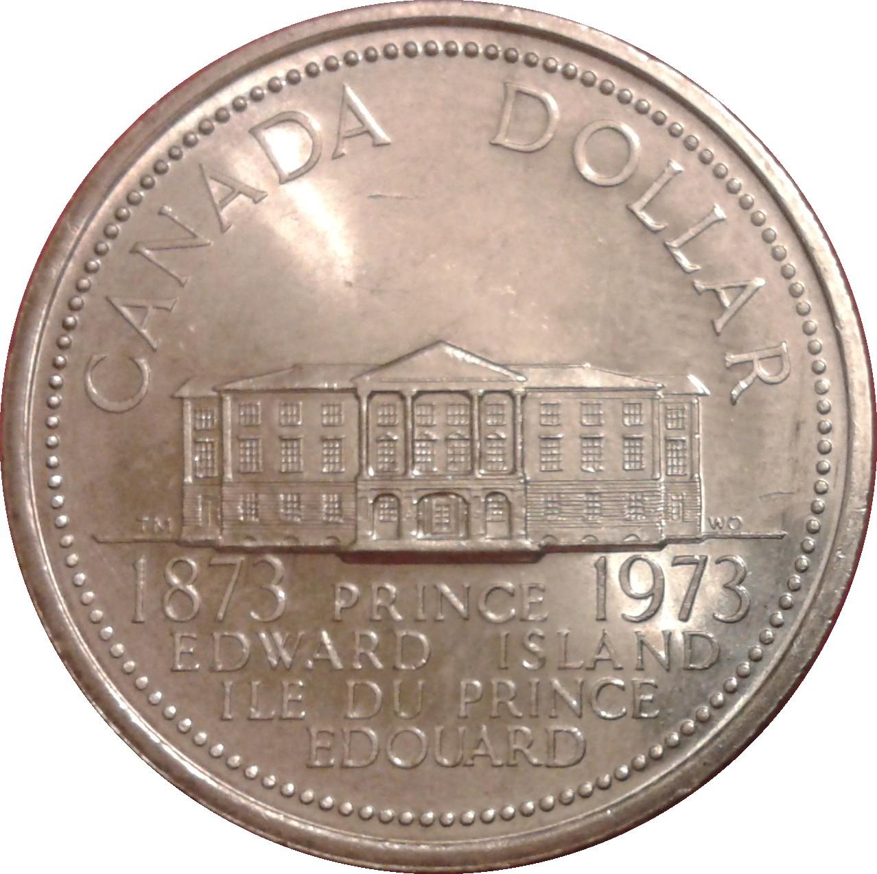 1 Dollar Elizabeth Ii Prince Edward Island Canada Numista