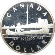 1 Dollar - Elizabeth II (Toronto) -  reverse