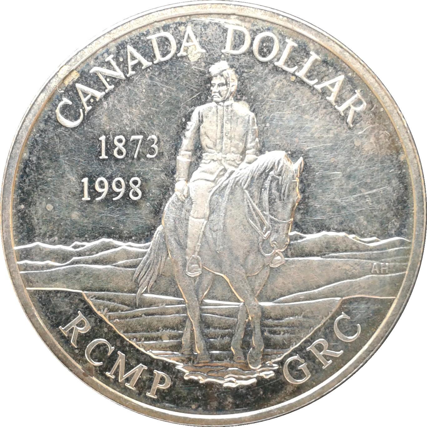 1 Dollar Elizabeth Ii Royal Canadian Mounted Police