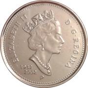 5 Cents - Elizabeth II (Golden Jubilee) -  obverse