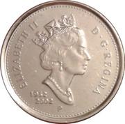 10 Cents - Elizabeth II (Golden Jubilee) – obverse