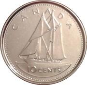 10 Cents - Elizabeth II (Golden Jubilee) – reverse