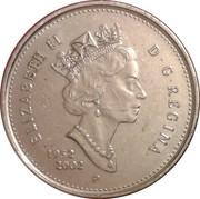 25 Cents - Elizabeth II (Golden Jubilee) -  obverse
