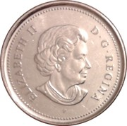10 Cents - Elizabeth II (4th portrait) -  obverse