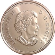 50 Cents - Elizabeth II (4th portrait) -  obverse