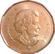 1 Dollar - Elizabeth II (4th portrait) -  obverse