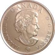 25 Cents - Elizabeth II (Armistice Day) -  obverse