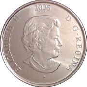 25 Cents - Elizabeth II (Pink Ribbon) -  obverse
