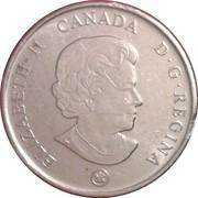 25 Cents - Elizabeth II (Medal of Bravery) -  obverse
